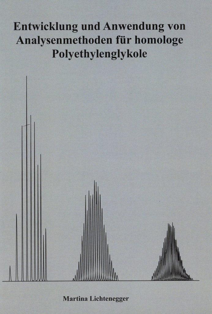 Dissertation von Martina Lichtenegger: Analytik von Polyethylenglykolen